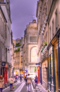 A back street in Paris